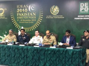 Pakistan defence industry to showcase new inventions at IDEAS 2018